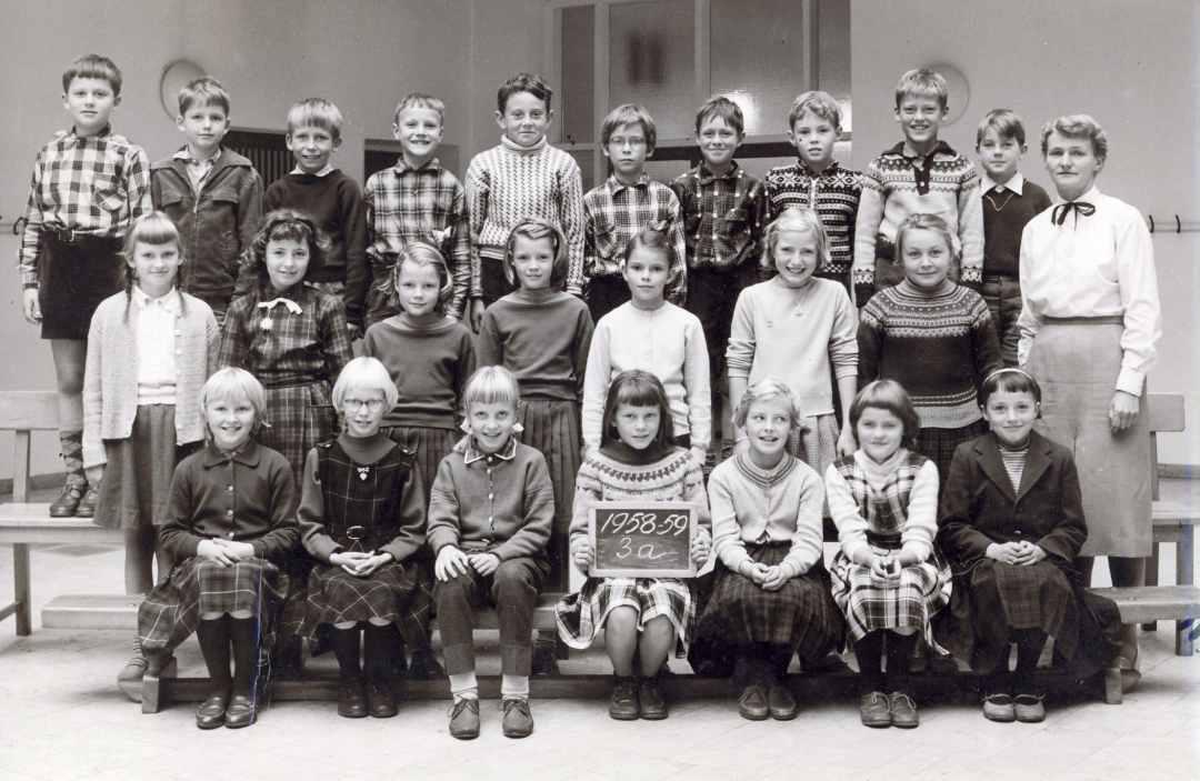 Gentofte Skole 1958-1959